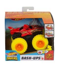 Veiculo-Hot-Wheels---1-43---Monster-Trucks---Shark-Wreak---Bash-Ups---Mattel_Frente
