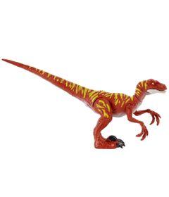 figura-articulada-jurassic-world-ataque-selvagem-velociraptor-vermelho-mattel-100390391_Frente