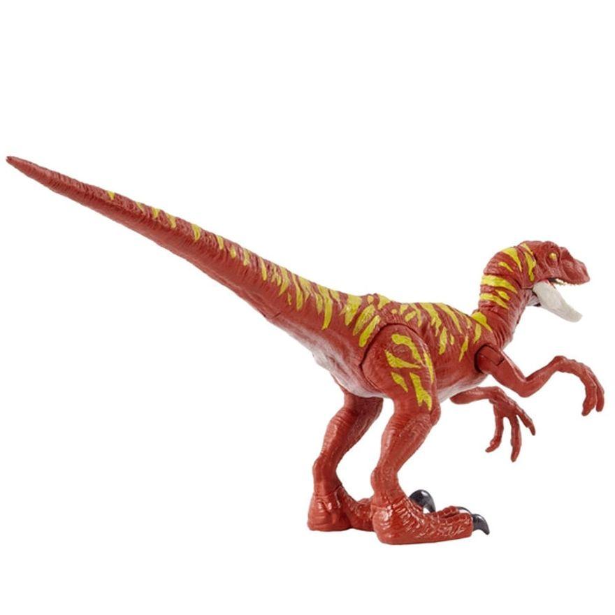 figura-articulada-jurassic-world-ataque-selvagem-velociraptor-vermelho-mattel-100390391_Detalhe