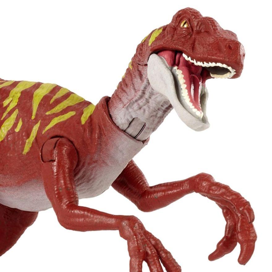 figura-articulada-jurassic-world-ataque-selvagem-velociraptor-vermelho-mattel-100390391_Detalhe1