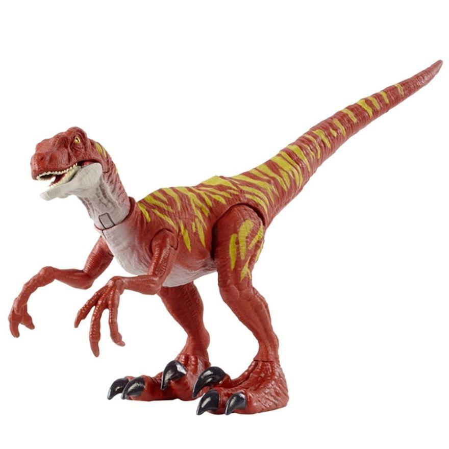 figura-articulada-jurassic-world-ataque-selvagem-velociraptor-vermelho-mattel-100390391_Detalhe2
