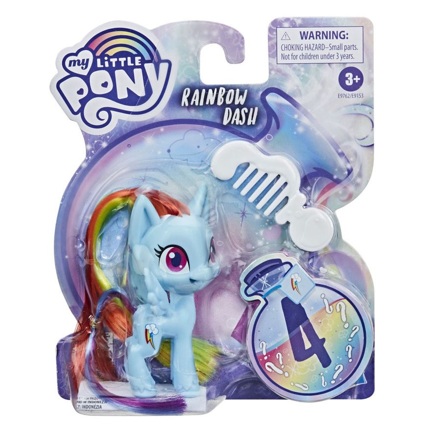 Mini-Figura-com-Acessorios---My-Little-Pony---Rainbow-Dash---Pocao-de-Estilo-4---Hasbro_Embalagem