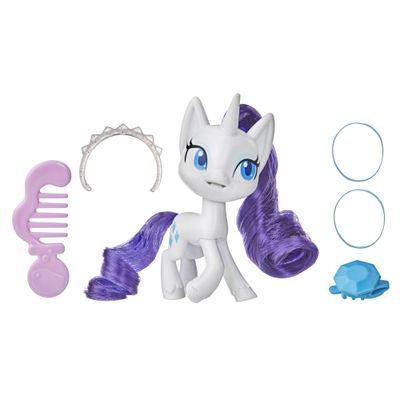 Mini-Figura-com-Acessorios---My-Little-Pony---Rarity---Pocao-de-Estilo-4---Hasbro_Frente