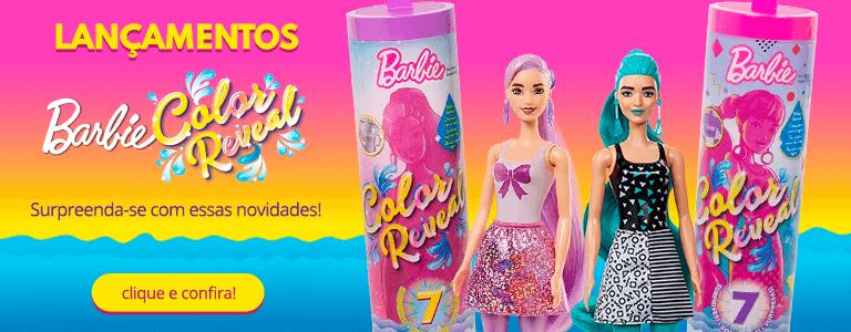 Slim Banner - Barbie Color Reveal - Mobile