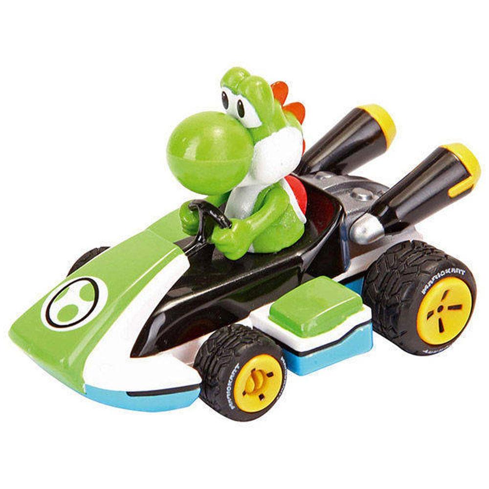 Mini Veículo - 1:43 - Mario Kart - Yoshi - Carrera