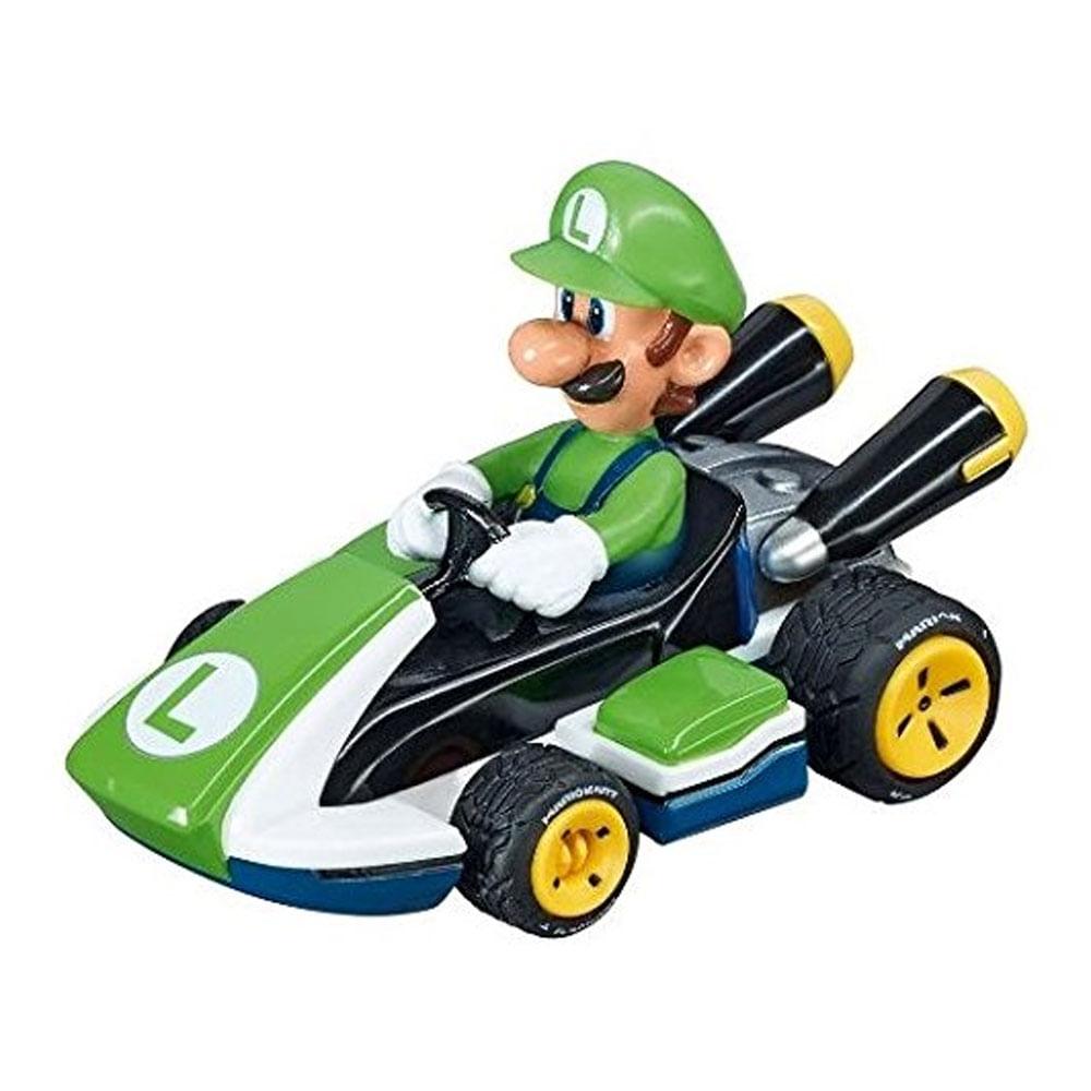 Mini Veículo - 1:43 - Mario Kart - Luigi - Carrera