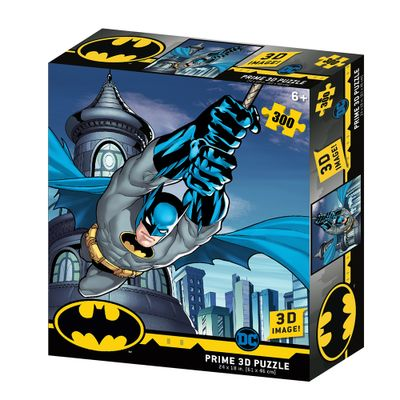 Quebra-Cabeca-3D---300-Pecas---Batman-Dc-Comics---Multikids-0