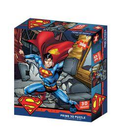Quebra-Cabeca-3D---300-Pecas---Superman-Dc-Comics---Multikids-0