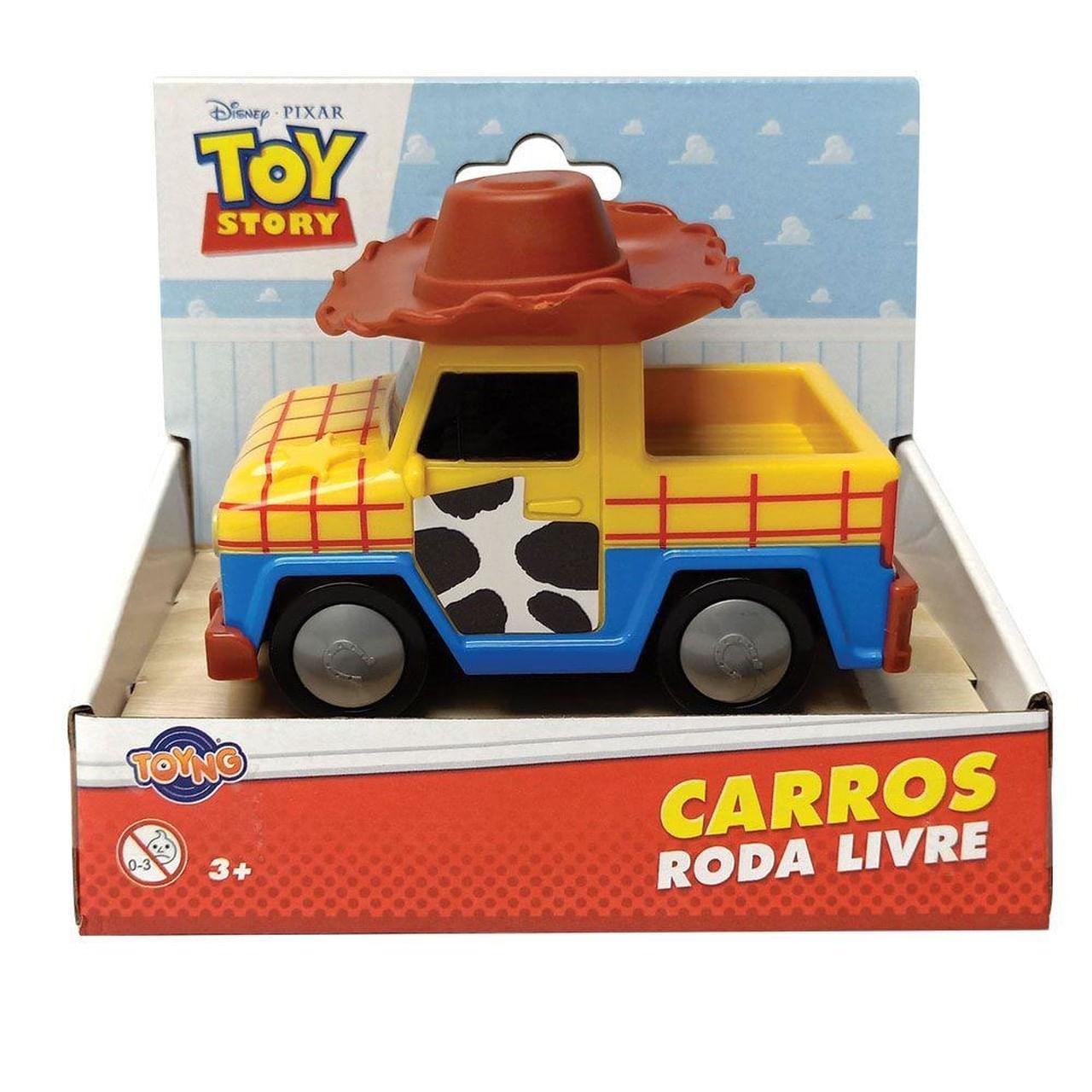 Carro Toy Story 4 - Woody - Roda Livre - Disney Pixar Toyng