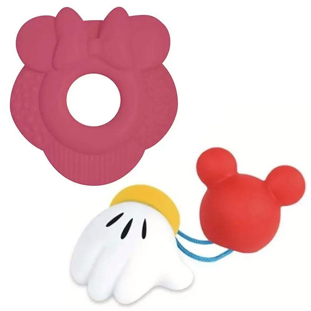 Kit de Mordedores - Disney Baby - Minnie e Mckey - Toyster