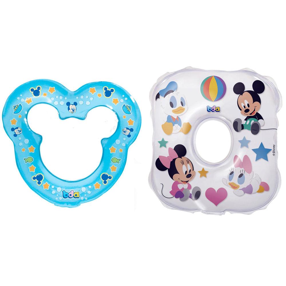 Kit de Mordedores - Disney Baby - Mickey Mouse e Quadrado - Toyster