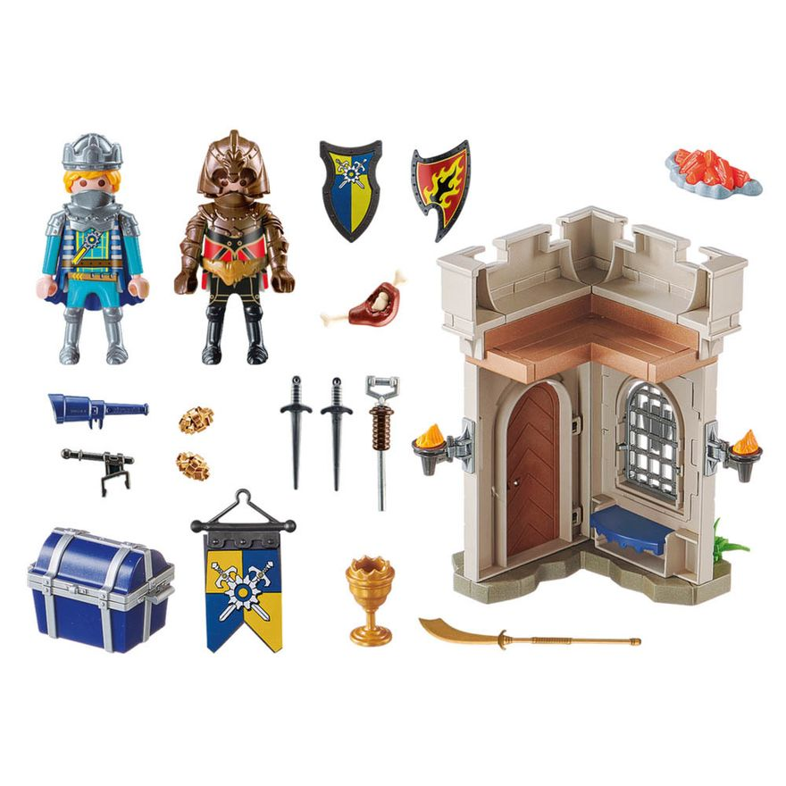 Playmobil---Starter-Pack---Fortaleza-Dos-Cavaleiros-De-Novelmore---Sunny-1