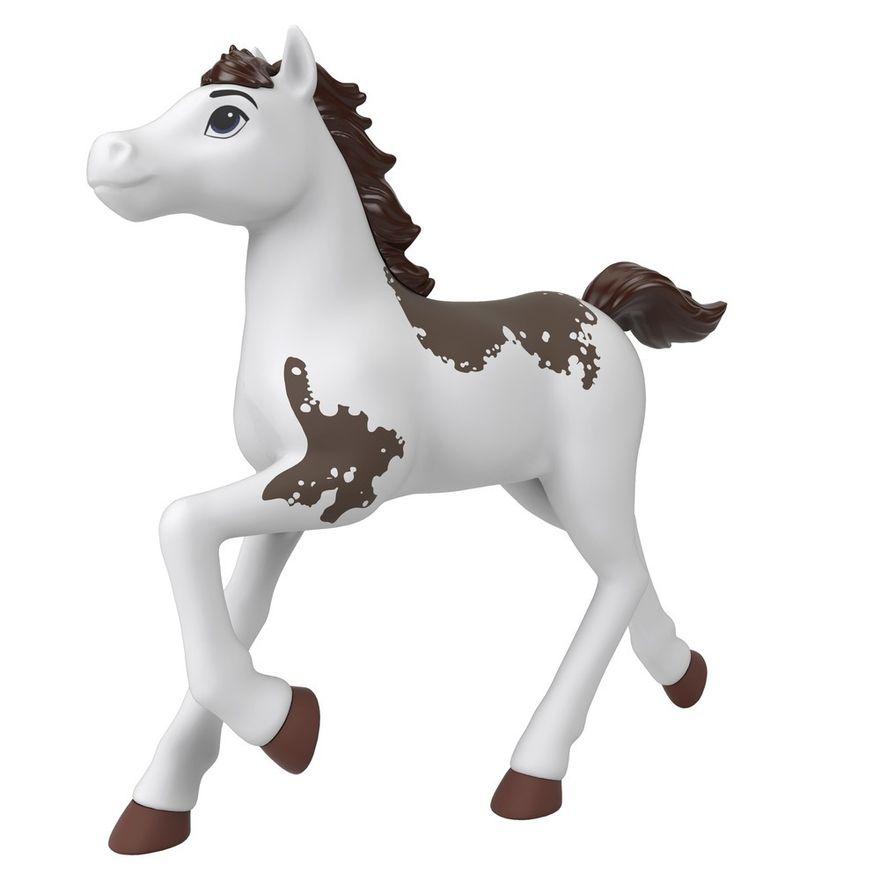Boneco---Rebanho-de-Cavalos-Basicos---Branco---Spirit---Matel-0