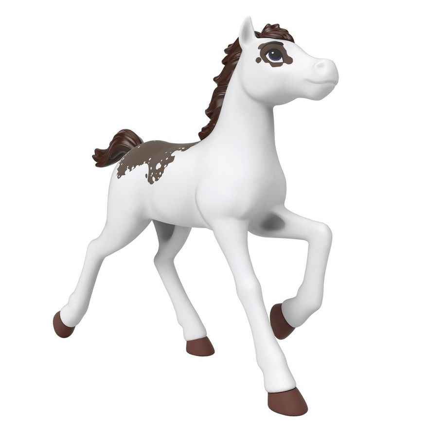 Boneco---Rebanho-de-Cavalos-Basicos---Branco---Spirit---Matel-4