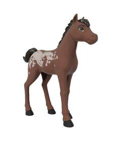 Boneco---Rebanho-de-Cavalos-Basicos---Marrom---Spirit---Matel-0