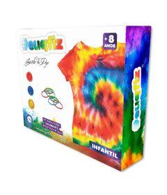 Conjunto-De-Artes---Kit-De-Pintura-Tie-Die-Com-Camiseta-Infantil---EuQFiz---Tam-G---I9-Brinquedos-0