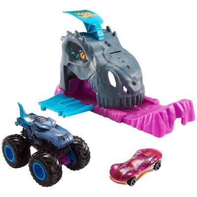 lancador-e-mini-veiculo-hot-wheels-monster-trucks-mega-wrex-mattel-100403212_Frente