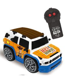 Carro-de-Controle-Remoto---Disney---Pixar---Team-Racer---Woody---Candide