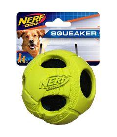 brinquedo-para-pets-bolinha-com-furos-8cm-amarelo-fluorescente-nerf-dogs-100406654_Frente