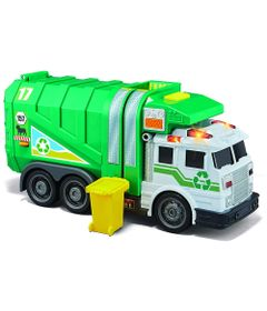 Caminhao-de-Lixo---Reciclagem---Verde-e-Branco---Fastlane_Frente