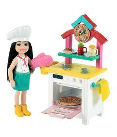 Barbie---Mundo-de-Chelsea---Conjunto---Pizzaiola---Mattel-0