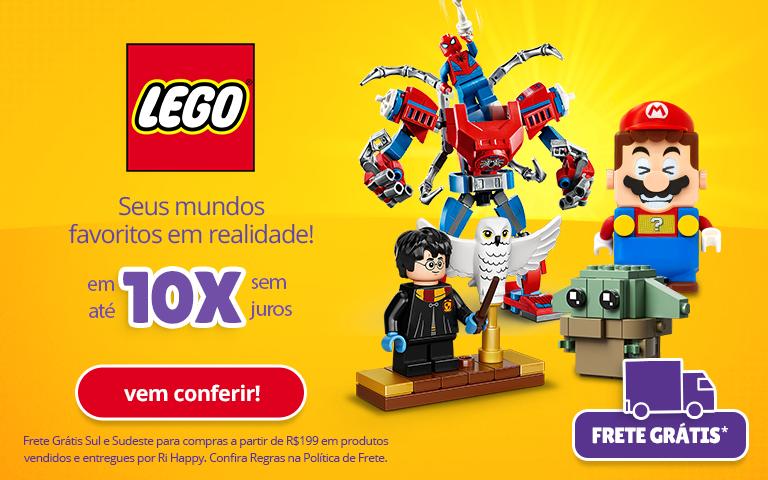 Fullbanner - Mobile - Blocos de Montar Lego - act