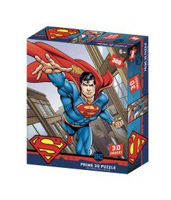 Quebra-Cabeca-3D---300-Pecas---Superman-Flying-Dc-Comics---Multikids-0