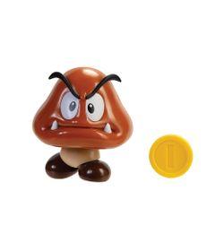 Mini-Boneco-Colecionavel---Goomba-com-Moeda---Super-Mario---Candide-0