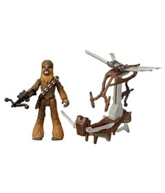 Veiculo-e-Mini-Figura-Articulada---Disney---Star-Wars---Mission-Fleet---Chewbacca---Hasbro-0