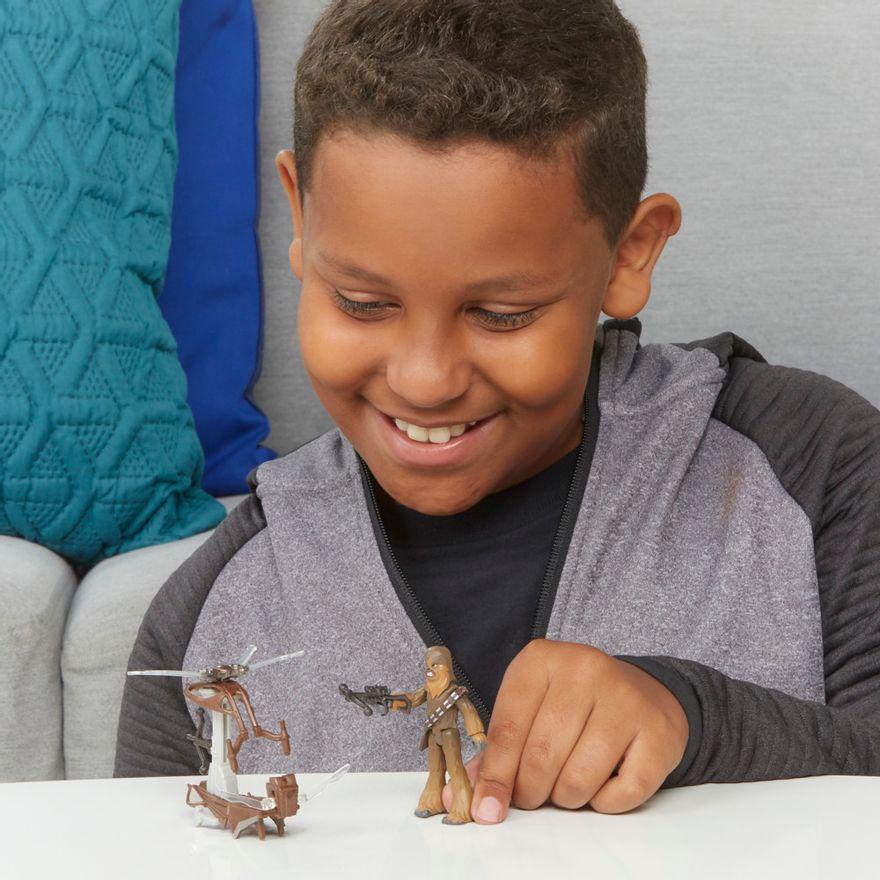 Veiculo-e-Mini-Figura-Articulada---Disney---Star-Wars---Mission-Fleet---Chewbacca---Hasbro-2