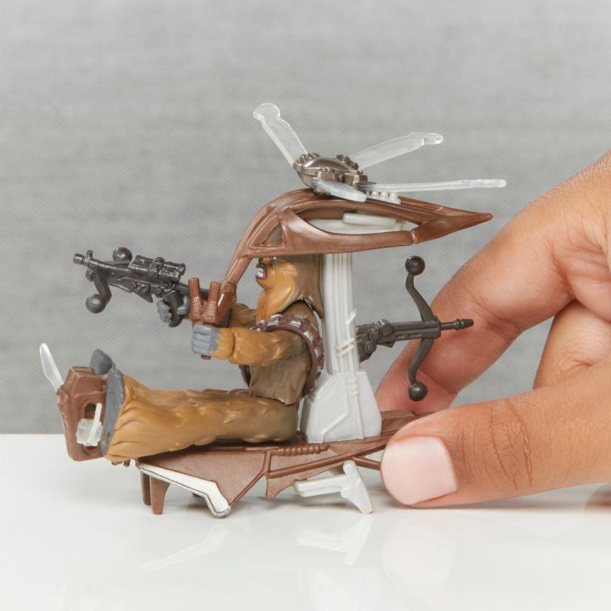 Veiculo-e-Mini-Figura-Articulada---Disney---Star-Wars---Mission-Fleet---Chewbacca---Hasbro-4