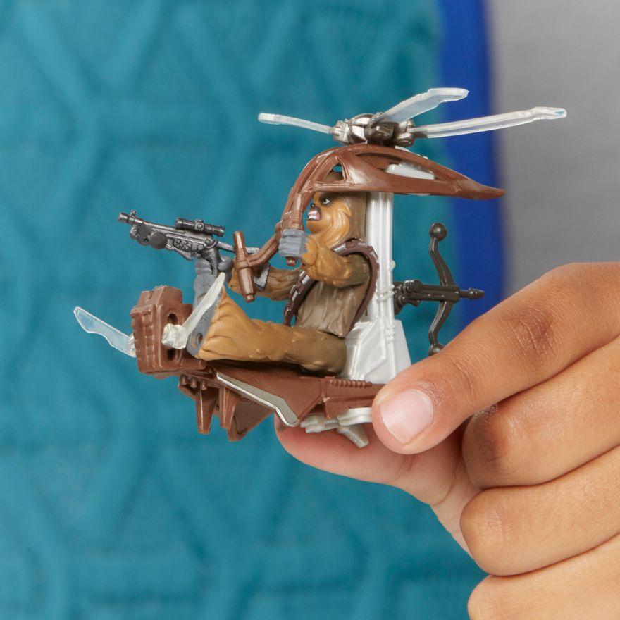 Veiculo-e-Mini-Figura-Articulada---Disney---Star-Wars---Mission-Fleet---Chewbacca---Hasbro-5