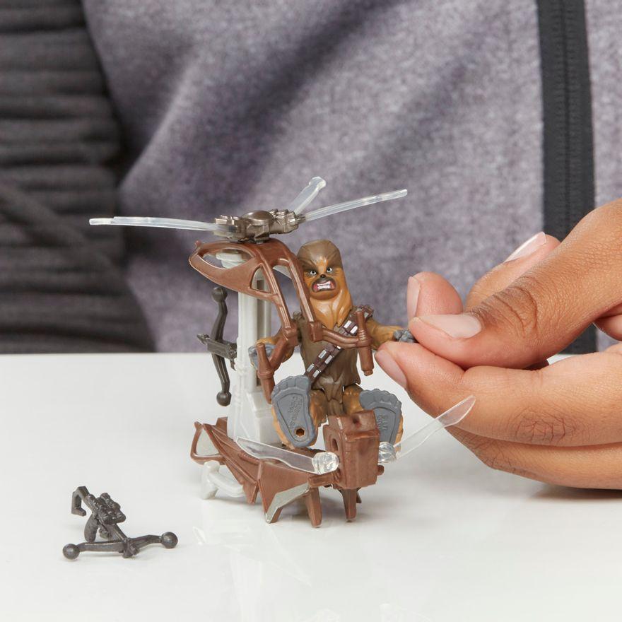 Veiculo-e-Mini-Figura-Articulada---Disney---Star-Wars---Mission-Fleet---Chewbacca---Hasbro-6