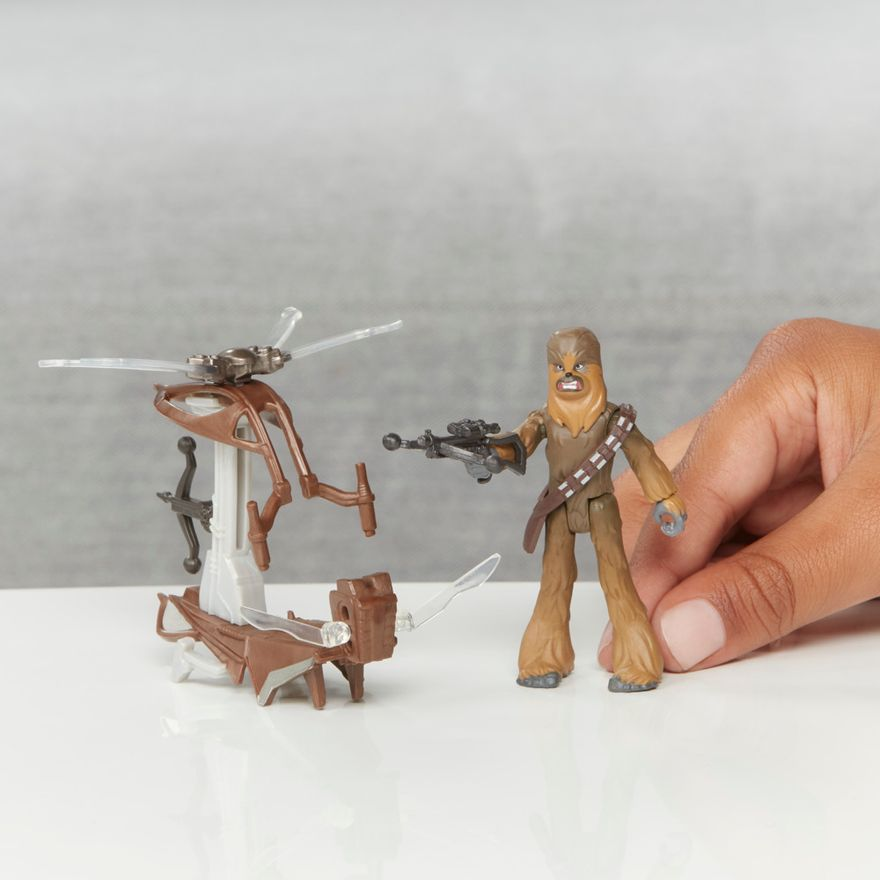 Veiculo-e-Mini-Figura-Articulada---Disney---Star-Wars---Mission-Fleet---Chewbacca---Hasbro-7
