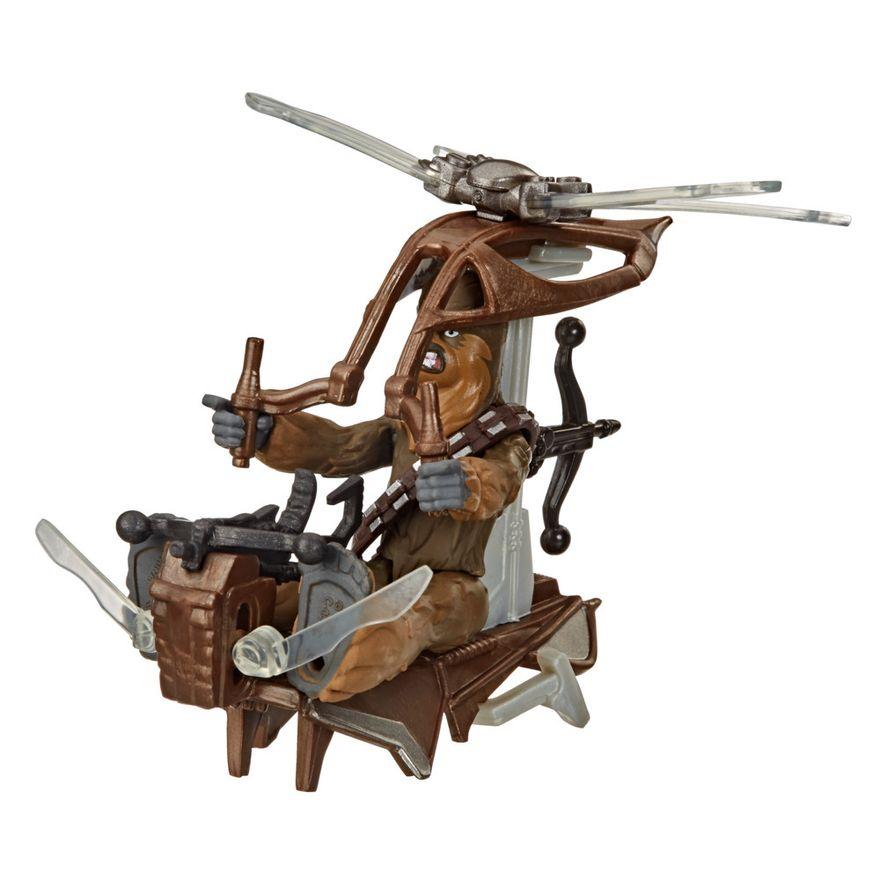 Veiculo-e-Mini-Figura-Articulada---Disney---Star-Wars---Mission-Fleet---Chewbacca---Hasbro-8