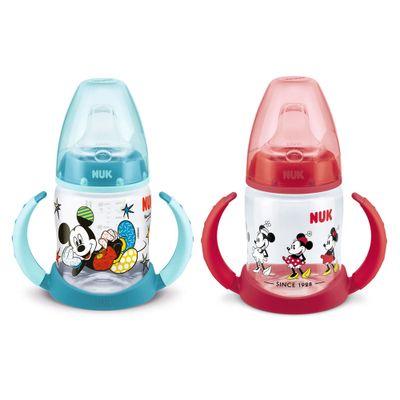 Kit-de-Copos-de-Treinamento---First-Choice---150Ml---Disney-By-Britto---Mickey-e-Minnie---Nuk