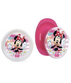 Kit-de-Pratos---Fundo-e-Raso---Disney---Minnie-Mouse---BabyGo