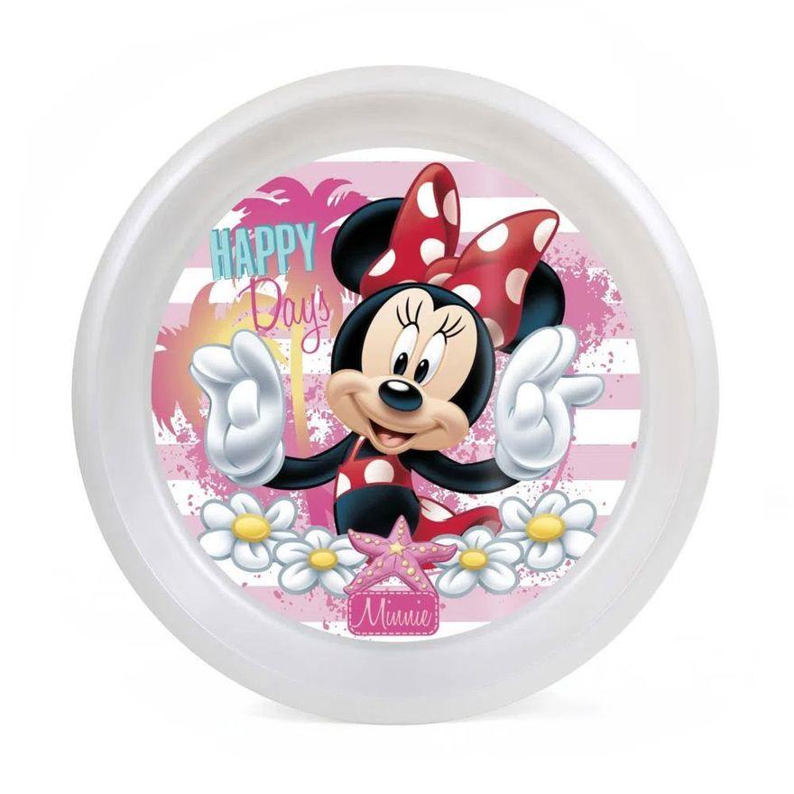 Kit-de-Copo-de-Treinamento---300Ml-e-Prato-Raso---Disney---Minnie---BabyGo