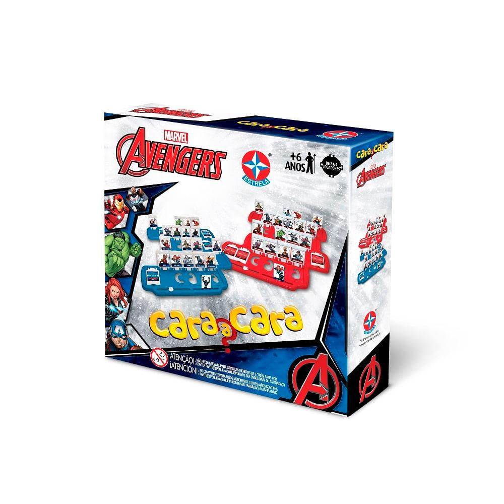 Jogo Cara A Cara - Perguntas - Avengers - Estrela