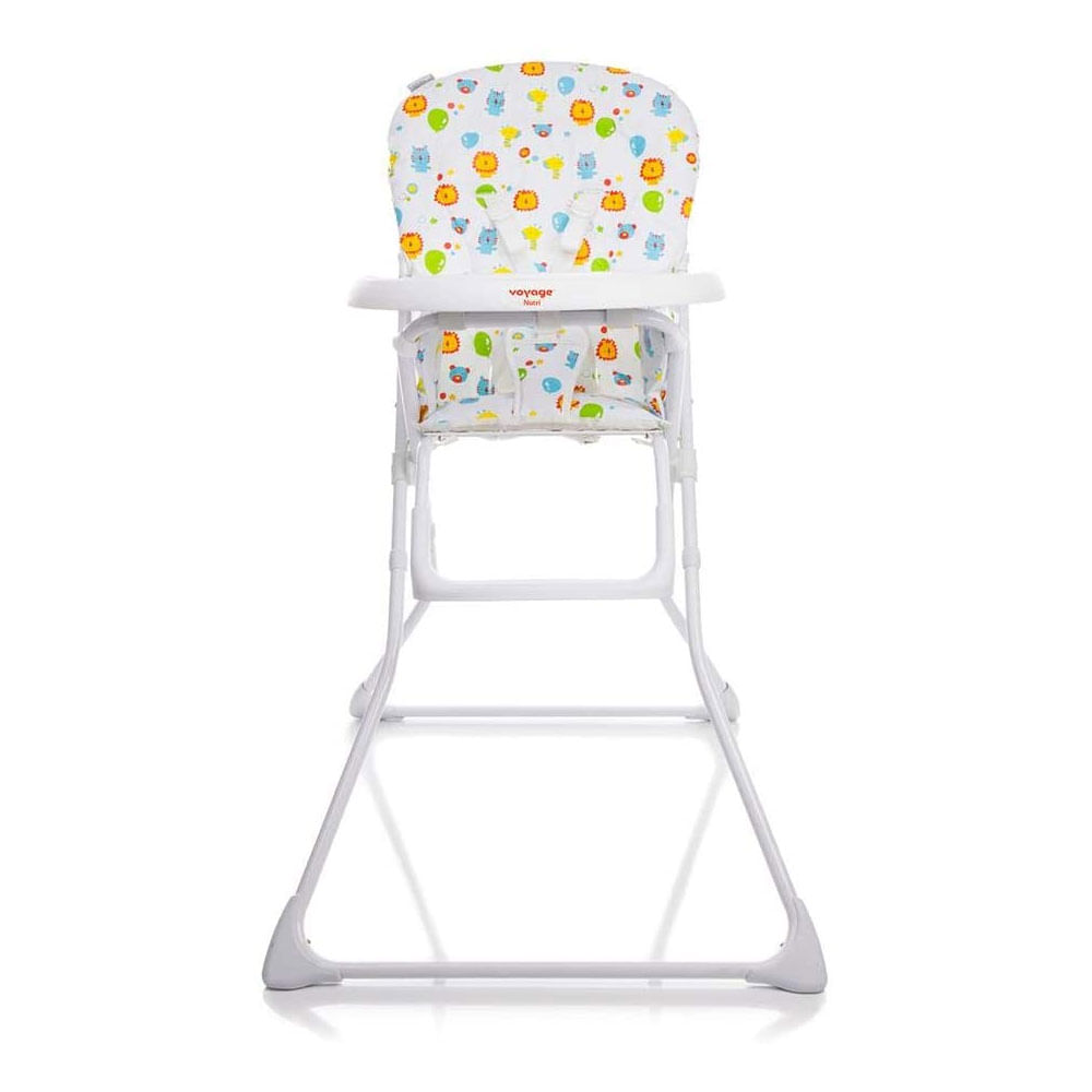 Cadeira de Alimentação - Nutri Zoo - Branco - Voyage