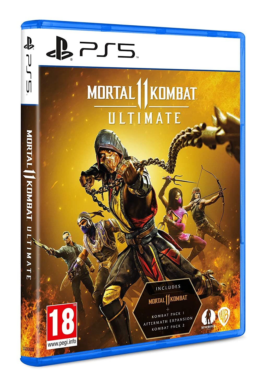 Jogo Mortal Kombat 11 Ultimate Com Packs - PS5 Mídia Física