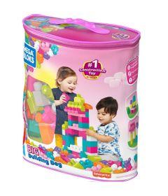 Bloco-De-Montar---Mega-Bloks---Sacola-de-80-Blocos-Rosa---Mattel-0