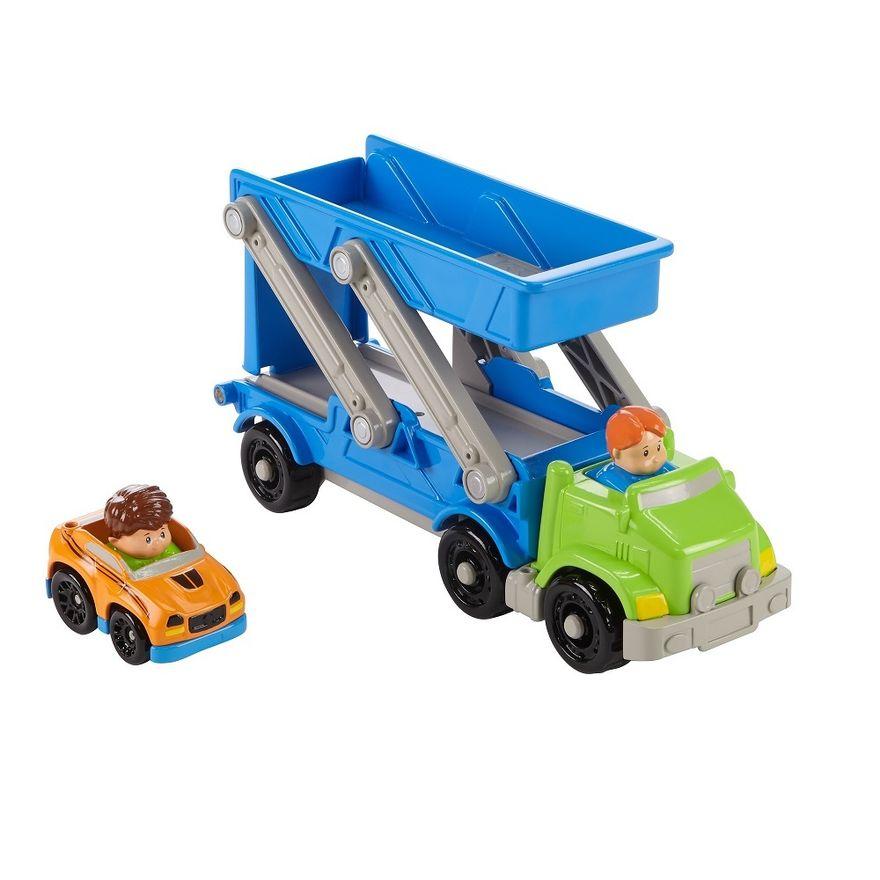 Fisher-Price---Little-People---Caminhao-Transportador-de-Veiculos---Mattel-0