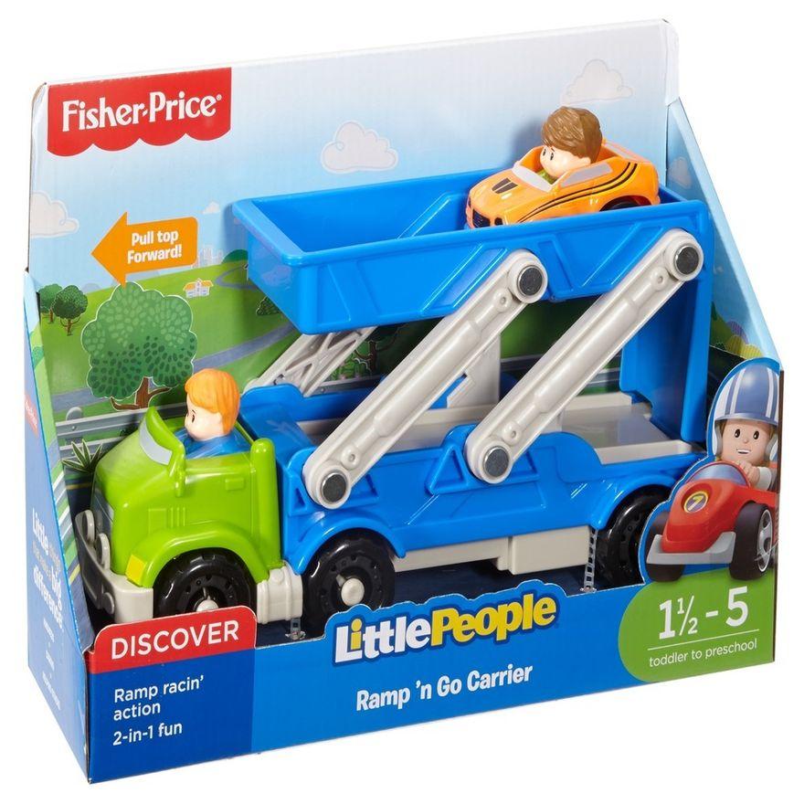 Fisher-Price---Little-People---Caminhao-Transportador-de-Veiculos---Mattel-2