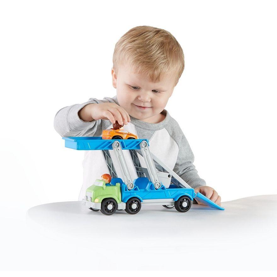 Fisher-Price---Little-People---Caminhao-Transportador-de-Veiculos---Mattel-3