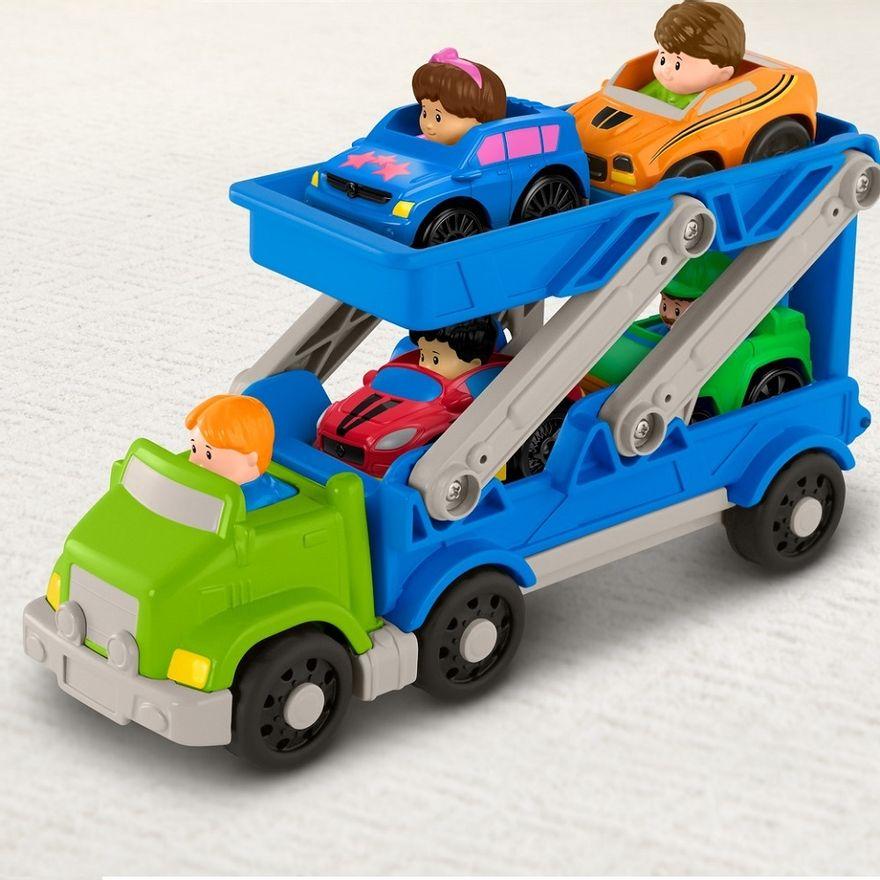 Fisher-Price---Little-People---Caminhao-Transportador-de-Veiculos---Mattel-4