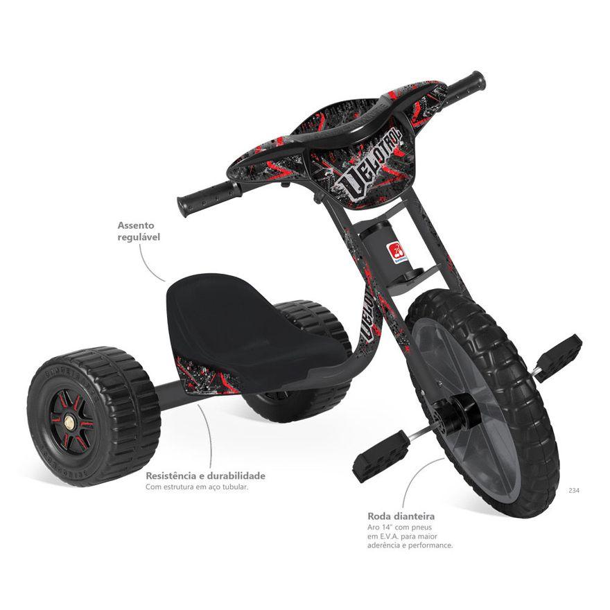 Triciclo-Velotrol-Preto-Bandeirante-234_Detalhe1