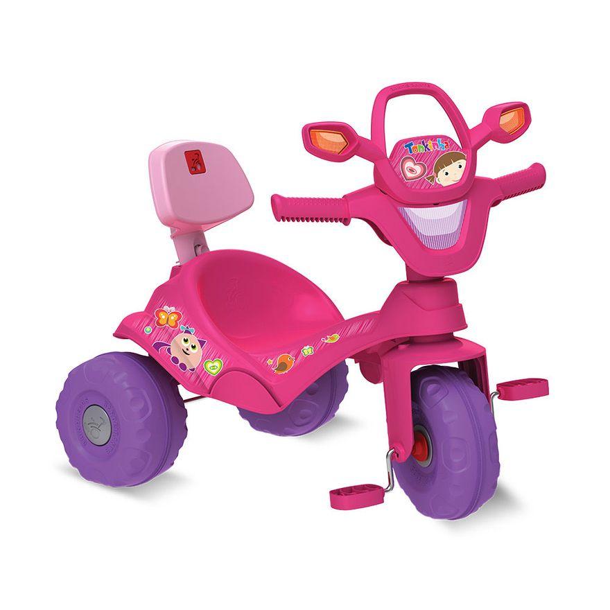 Triciclo-de-Passeio-e-Pedal-Tonkinha-Rosa-Bandeirante-854_Detalhe
