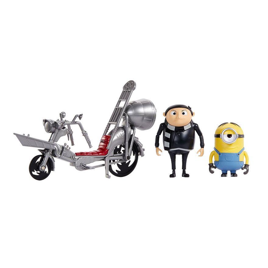 Figuras-e-Mini-Veiculo---Minions---Bicicleta-do-Gru---Mattel-4