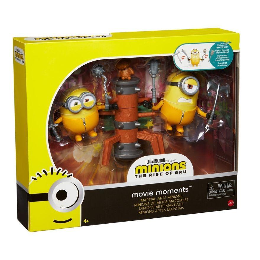 Figura-de-Acao---Conjunto-de-Aventuras---Minions-Artes-Marciais---Mattel-2